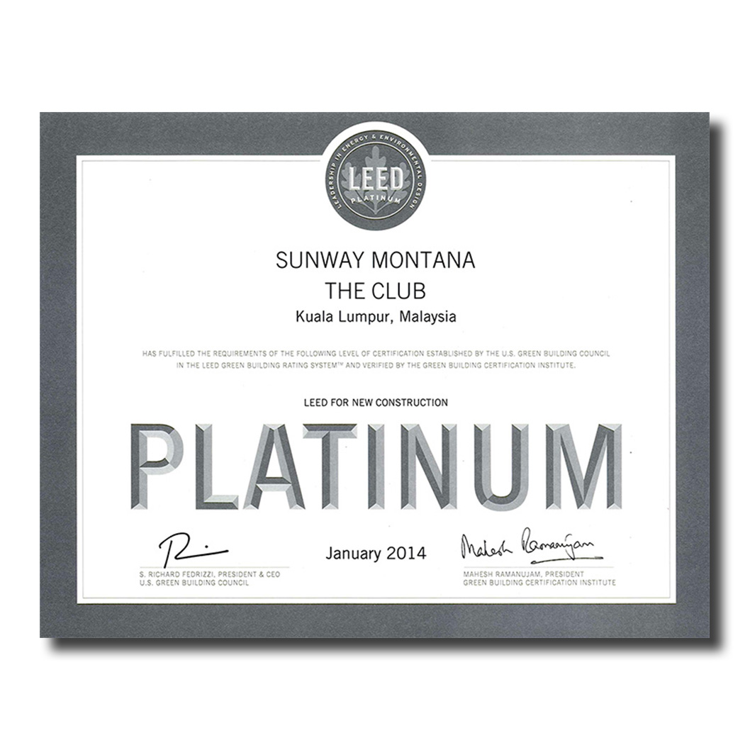 The LEED Green Building Rating System | Sunway Montana